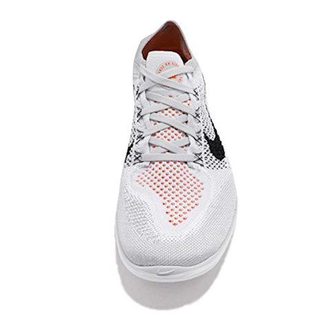 Nike Free RN Flyknit 2018 Men's Running Shoe - Silver Image 5