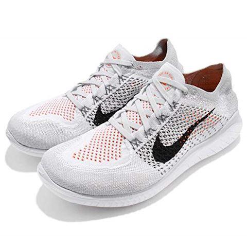 Nike Free RN Flyknit 2018 Men's Running Shoe - Silver Image 8