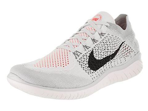 Nike Free RN Flyknit 2018 Men's Running Shoe - Silver Image 9