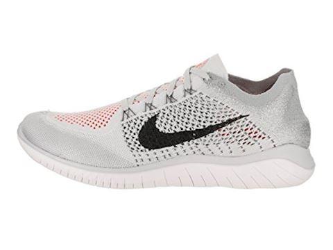 Nike Free RN Flyknit 2018 Men's Running Shoe - Silver Image 10