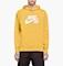 Nike SB Icon Men's Pullover Hoodie - Yellow Thumbnail Image
