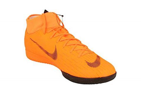 quality design c3a9e add5b Nike Mercurial SuperflyX 6 Academy IC - Total Orange Black Volt Image 4