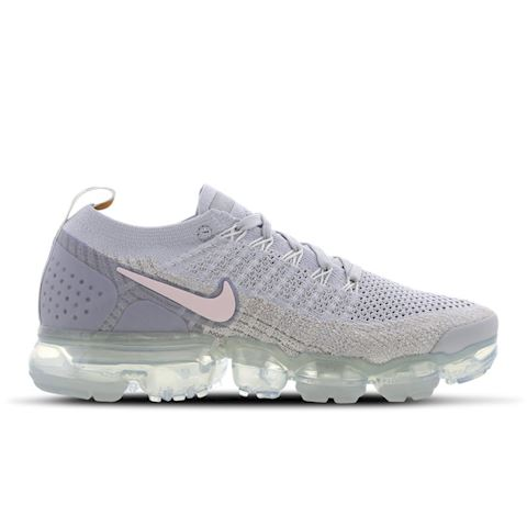 192b99bafae63 Nike Air VaporMax Flyknit 2 Metallic Women's Shoe - Silver
