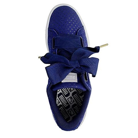 new product acc0d 54a12 Puma Basket Heart Denim Women's Trainers