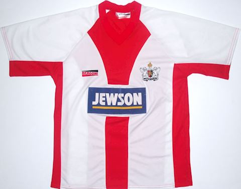 Exeter City Kids SS Home Shirt 2002/03 Image