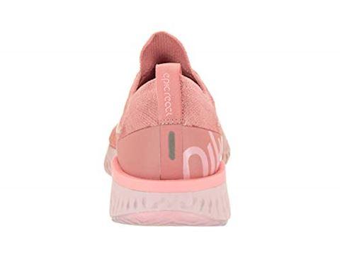 Nike Epic React Flyknit Women's Running Shoe - Pink Image 3