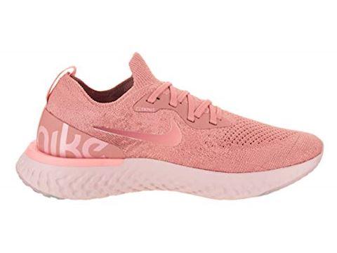 Nike Epic React Flyknit Women's Running Shoe - Pink Image 5