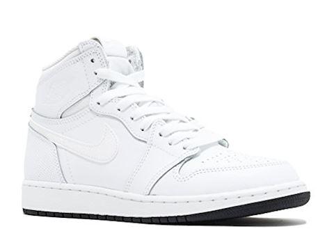 save off d4b33 1737a Nike Air Jordan 1 Retro High OG Older Kids' Shoe - White