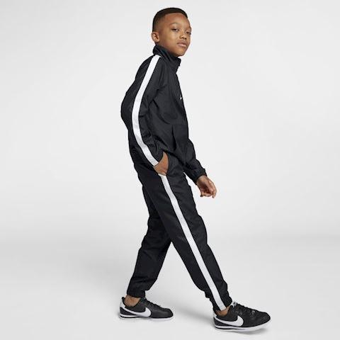 Nike Sportswear Older Kids' Woven Tracksuit - Black Image