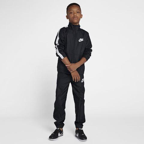 Nike Sportswear Older Kids' Woven Tracksuit - Black Image 2