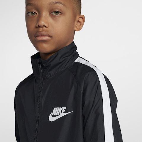 Nike Sportswear Older Kids' Woven Tracksuit - Black Image 4