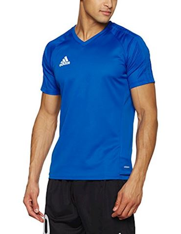 adidas Tiro 17 Training Jersey Blue Collegiate Navy White Image