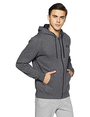 Under Armour Men's UA Rival Fleece Fitted Full Zip Hoodie Image