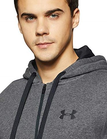 Under Armour Men's UA Rival Fleece Fitted Full Zip Hoodie Image 3