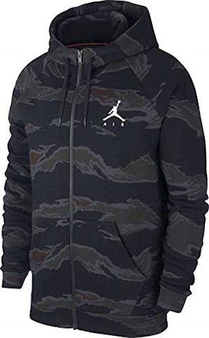 Nike Jordan Sportswear Jumpman Men's Camo Fleece Full-Zip Hoodie - Black