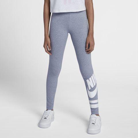 sports shoes a07d5 75ba9 Nike Sportswear Older Kids  (Girls ) Graphic Leggings - Grey ...
