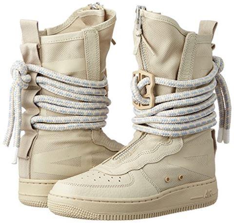 Nike SF Air Force 1 Hi 'Rattan' Women's, White Image 5