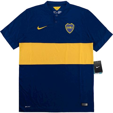 factory authentic 19395 971b3 Nike Boca Juniors Kids SS Home Shirt 2014/15