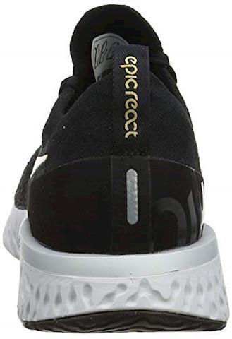 Nike Epic React Flyknit Women's Running Shoe - Black Image 2