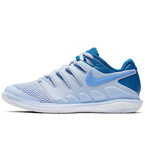 NikeCourt Air Zoom Vapor X Hard Court Women's Tennis Shoe - Blue Image