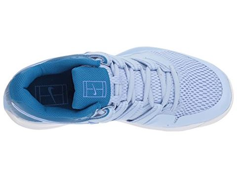 NikeCourt Air Zoom Vapor X Hard Court Women's Tennis Shoe - Blue Image 11