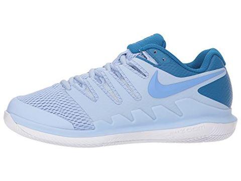 NikeCourt Air Zoom Vapor X Hard Court Women's Tennis Shoe - Blue Image 8
