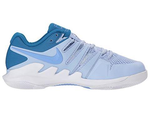 NikeCourt Air Zoom Vapor X Hard Court Women's Tennis Shoe - Blue Image 10