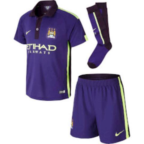 new arrival da65e a974a Nike Manchester City Kids SS Third Mini Kit 2014/15