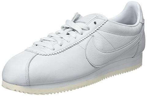 Nike Classic Cortez Premium Unisex Shoe - White Image