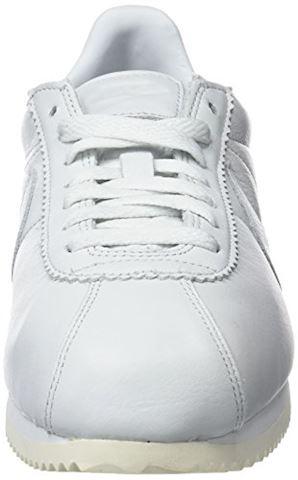 Nike Classic Cortez Premium Unisex Shoe - White Image 4