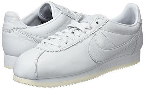 Nike Classic Cortez Premium Unisex Shoe - White Image 5