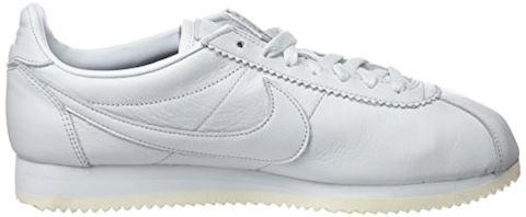 Nike Classic Cortez Premium Unisex Shoe - White Image 6