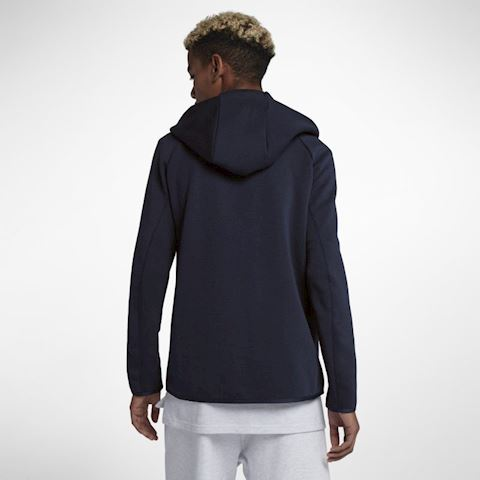 Nike Sportswear Tech Fleece Men's Full-Zip Hoodie - Blue Image 2