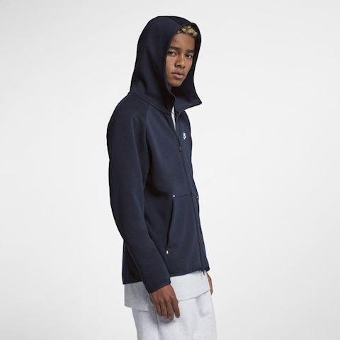 Nike Sportswear Tech Fleece Men's Full-Zip Hoodie - Blue Image 3