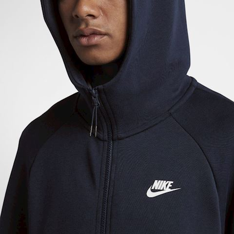Nike Sportswear Tech Fleece Men's Full-Zip Hoodie - Blue Image 5