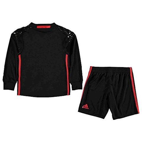 adidas Manchester United Kids LS Goalkeeper Home Mini Kit 2016/17