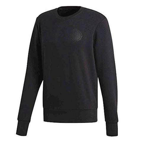 adidas Real Madrid Sweatshirt Graphic - Black Image