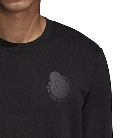 adidas Real Madrid Sweatshirt Graphic - Black Image 11