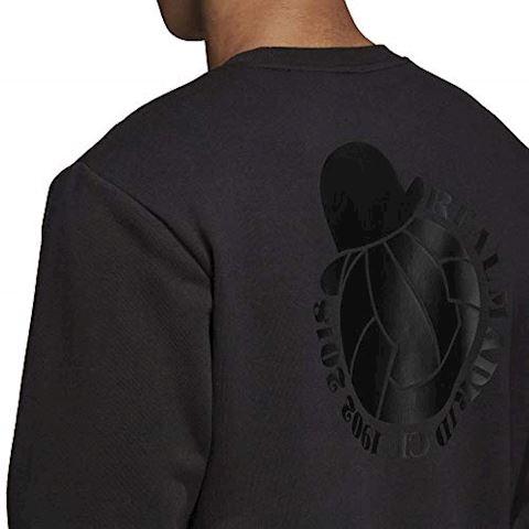 adidas Real Madrid Sweatshirt Graphic - Black Image 12