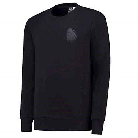 adidas Real Madrid Sweatshirt Graphic - Black Image 2