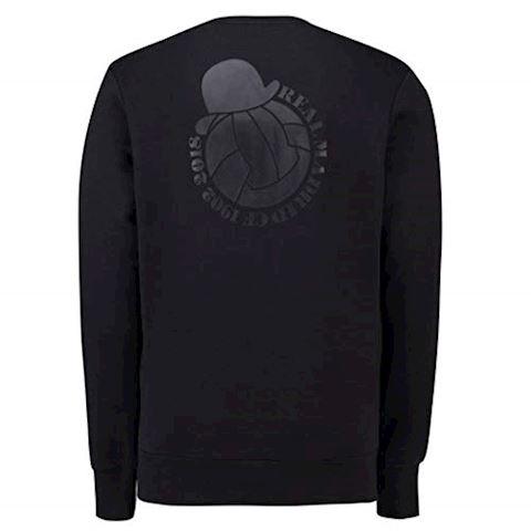 adidas Real Madrid Sweatshirt Graphic - Black Image 3
