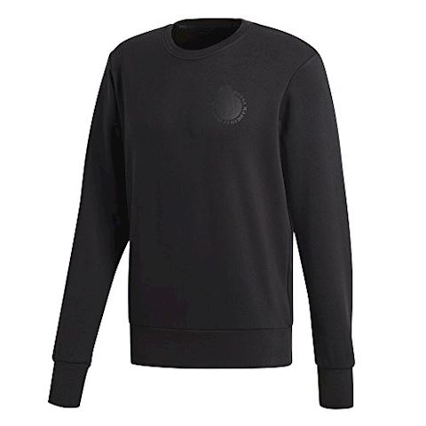 adidas Real Madrid Sweatshirt Graphic - Black Image 4