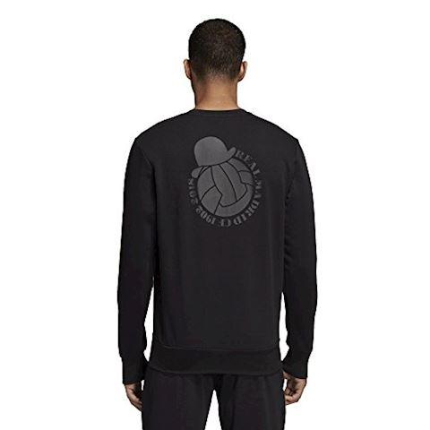 adidas Real Madrid Sweatshirt Graphic - Black Image 5
