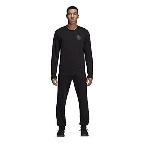 adidas Real Madrid Sweatshirt Graphic - Black Image 6