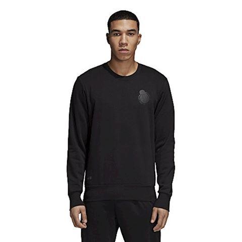 adidas Real Madrid Sweatshirt Graphic - Black Image 7