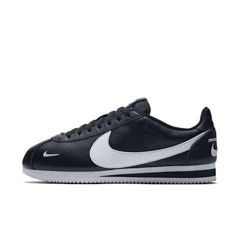 detailed look 039e1 2fd8a Nike Classic Cortez Premium Unisex Shoe - Black Image