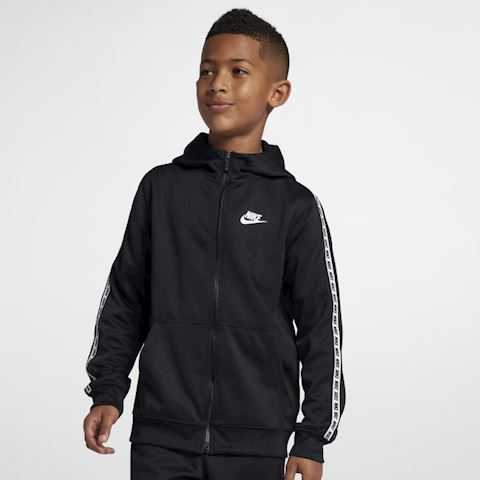 Nike Sportswear Older Kids' Full-Zip Hoodie - Black Image