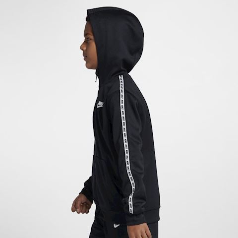 Nike Sportswear Older Kids' Full-Zip Hoodie - Black Image 2