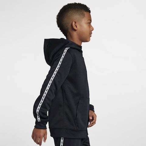 Nike Sportswear Older Kids' Full-Zip Hoodie - Black Image 3