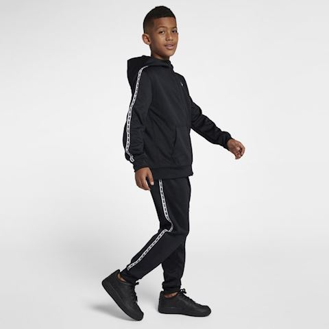Nike Sportswear Older Kids' Full-Zip Hoodie - Black Image 5